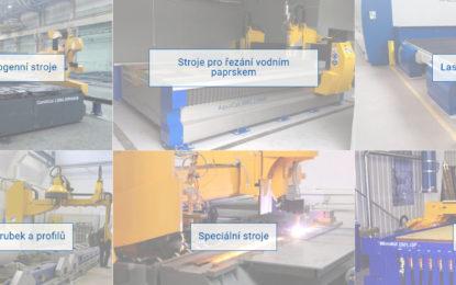Awac- CNC stroje a řezání vodním paprskem