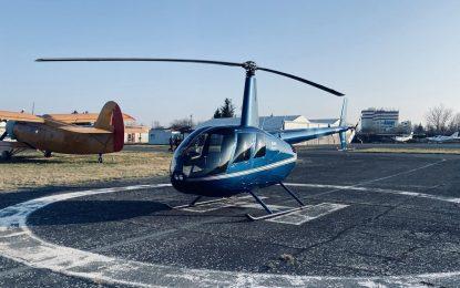 Vyhlídkový let vrtulníkem Robinson R44