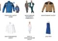 Pracovní oděvy a pracovní obuv všeho druhu